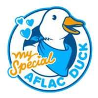 My Special Aflac Duck logo
