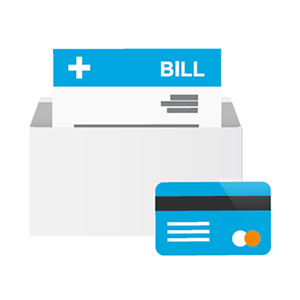bill and credit card icon