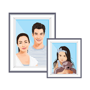family portraits icon