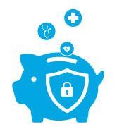 health piggy bank icon