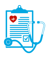 health clipboard icon