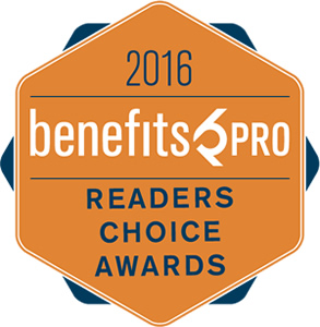 2016 BenefitsPro Readers Choice Award