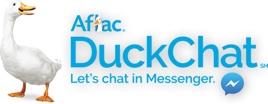 Aflac DuckChat logo