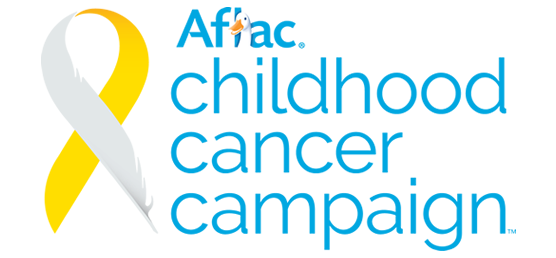Aflac Childhood Cancer Campaign logo
