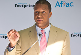 Footprints honoree: Craig Melvin