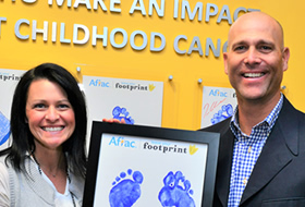 Footprints honoree: Tim and Kim Hudson