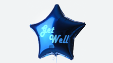 get well balloon icon